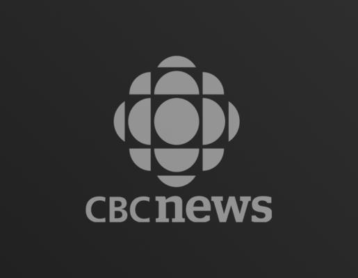 CBC News logo on dark gradient background