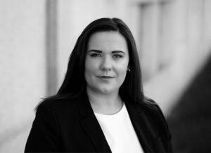 Keara Lundrigan Portrait Black and White