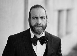 Oliver Abergel Portrait Black and White