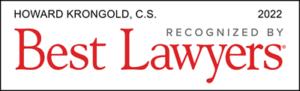 Howard Krongold Best Lawyers logo 2022