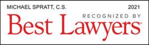 Michael Spratt Best Lawyers Logo