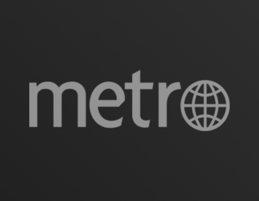Metro logo on dark gradient background