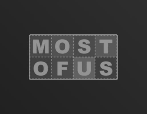 Most of Us logo on dark gradient background