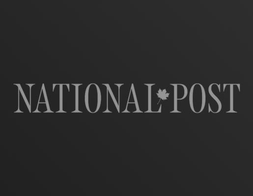 National Post logo on dark gradient background