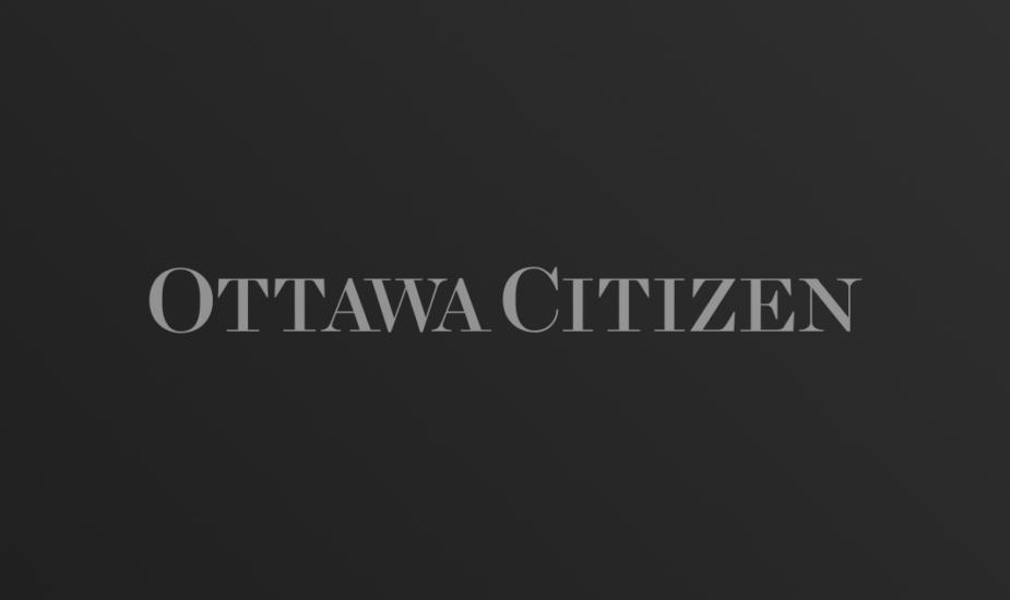 Ottawa Citizen logo on dark gradient background