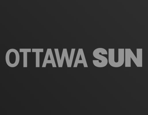 Ottawa Sun logo on dark gradient background