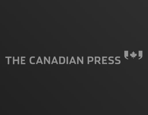 The Canadian Press logo on dark gradient background