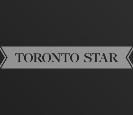 Toronto Star logo on dark gradient background