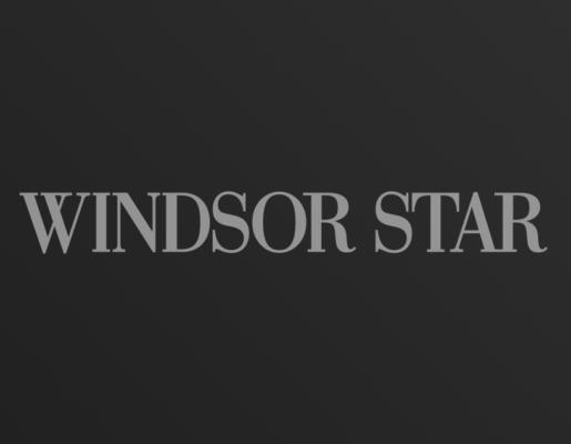 Windsor Star logo on dark gradient background